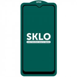 Защитное стекло SKLO 5D (full glue) (тех.пак) для Samsung Galaxy A31