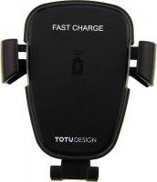 Автодержатель с БЗУ TOTU Wireless Charger Car Mount
