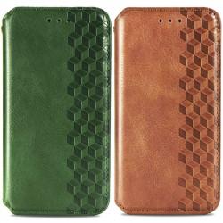 Кожаный чехол книжка GETMAN Cubic (PU) для Samsung Galaxy A72 4G / A72 5G