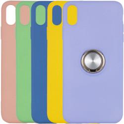 """TPU чехол Summer ColorRing под магнитный держатель для Apple iPhone XS Max (6.5"""")"""