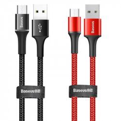 Дата кабель Baseus Halo Data Micro USB Cable 3A (0.25m)